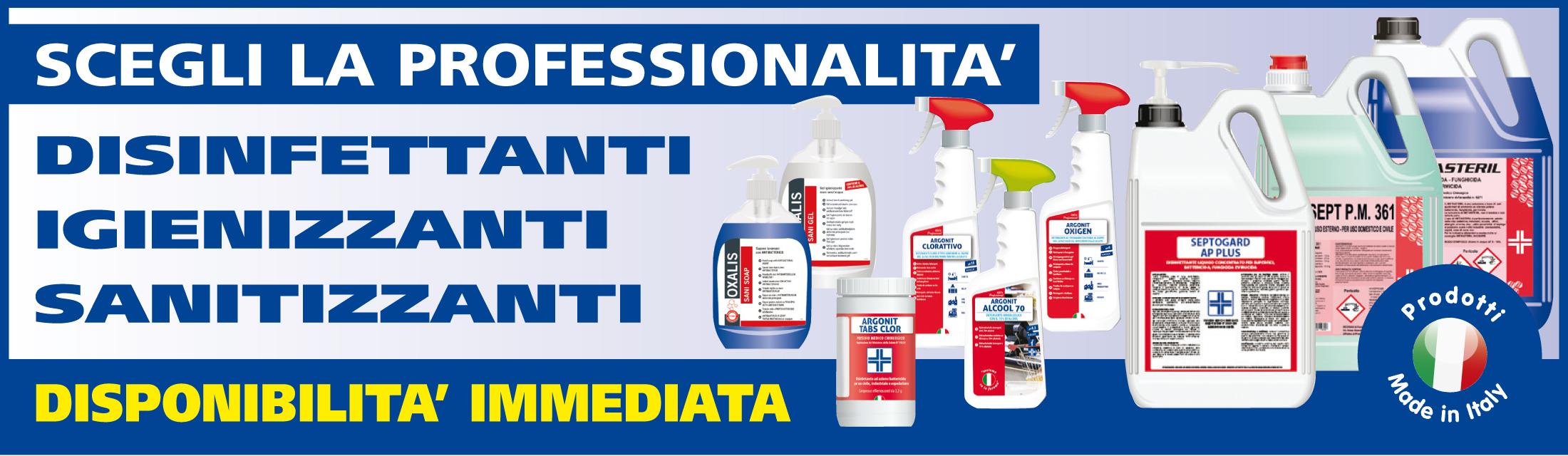 prodotti sanificazione